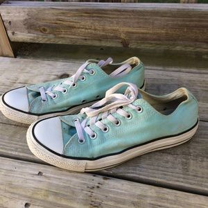 Converse Women's Light Blue / Tiffany Sneakers 10